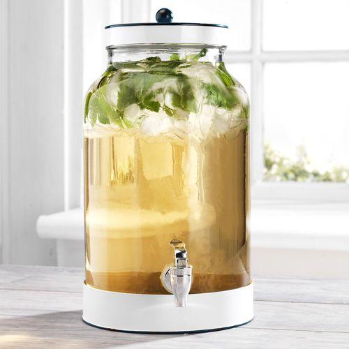 Corwin Beverage Dispenser White