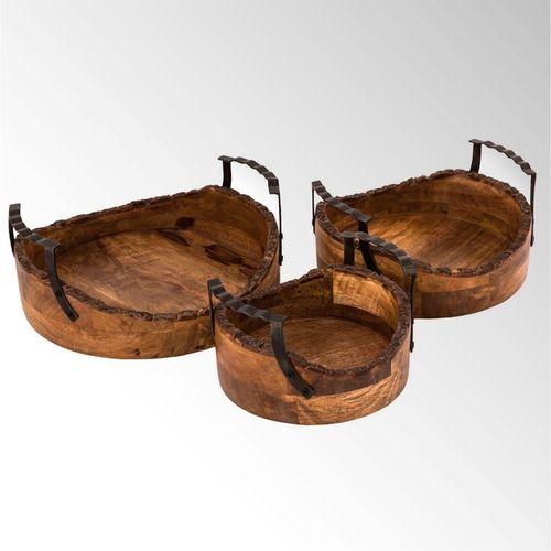 Timberland Bowls Natural Set of Three