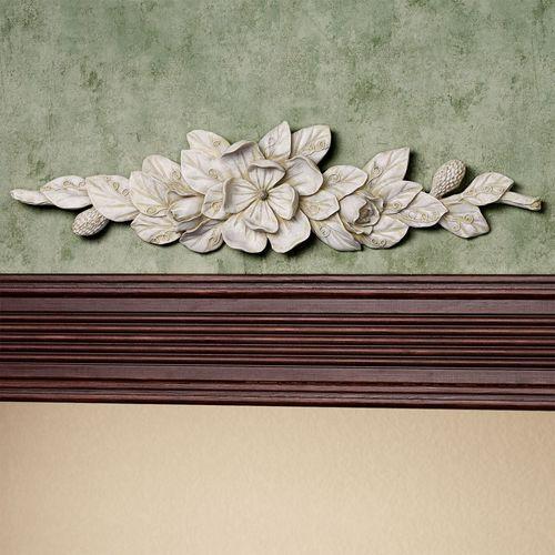 Magnolia Decorative Topper Ivory