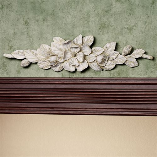 Magnolia Decorative Topper Ivory