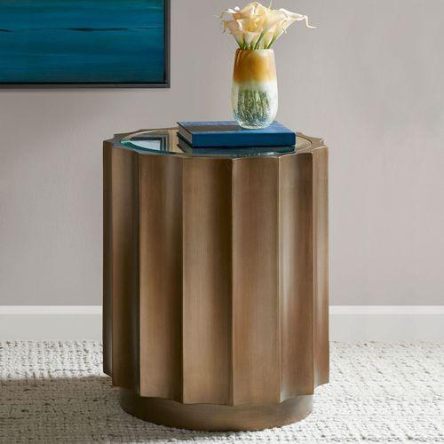 Bara Accent Table Bronze