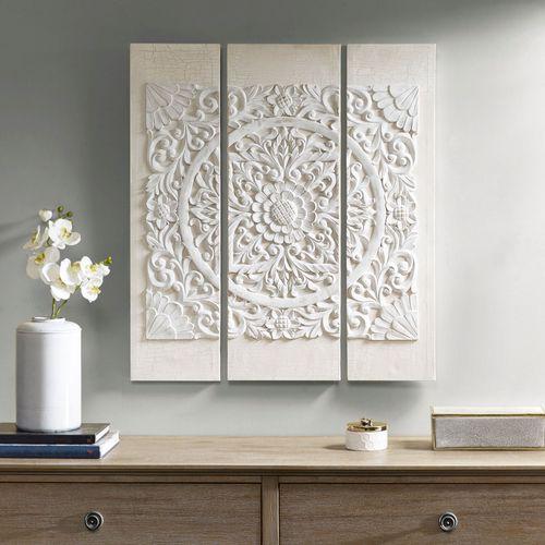 Majestic Mandala Triptych Wall Art Set
