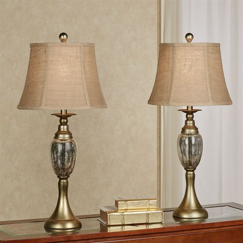 Oross Table Lamp Pair Gold