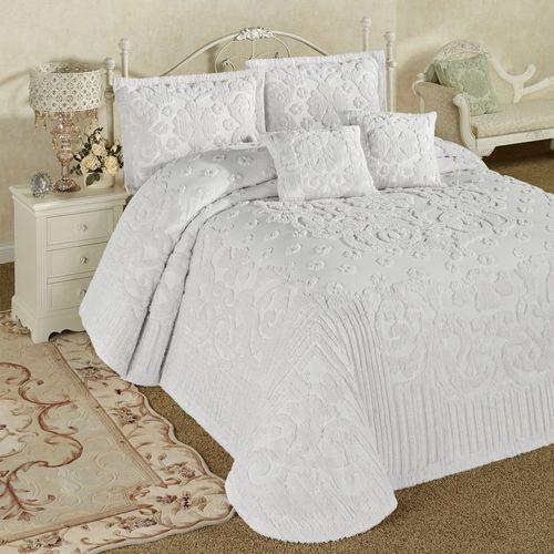 Laurent Grande Bedspread Set White