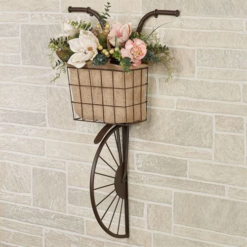 Hansen Bike Wall Accent Brown