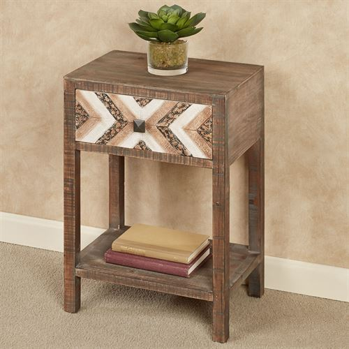 Chaya Accent Table Brown
