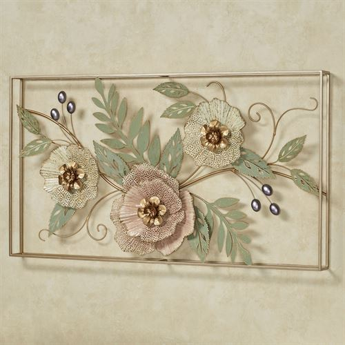 Forever Blooms Floral Wall Art Multi Pastel