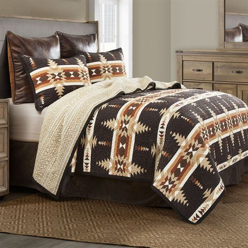 Yosemite Mini Quilt Set Black