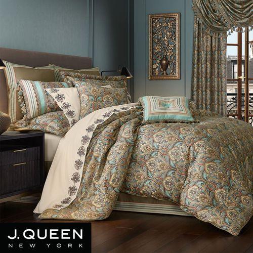 Victoria Comforter Set Jade