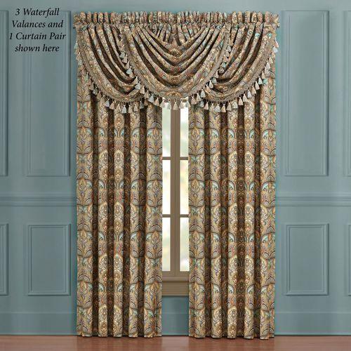 Victoria Wide Curtain Pair Jade 100 x 84