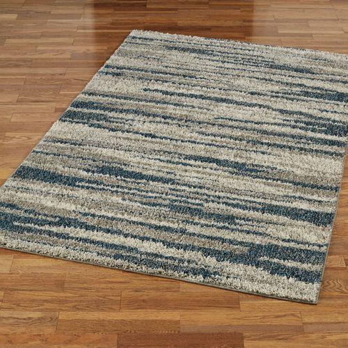 Millennium Rectangle Rug Slate Blue
