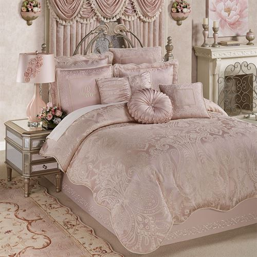 Princess Comforter Set Blush
