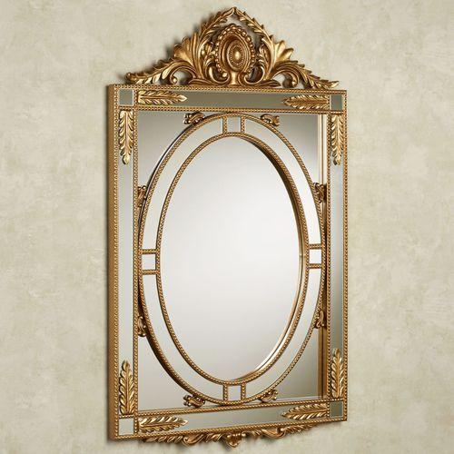 Anwen Wall Mirror Gold