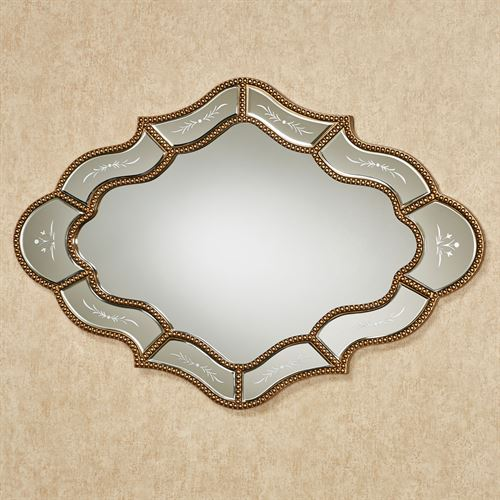 Keeva Wall Mirror Gold