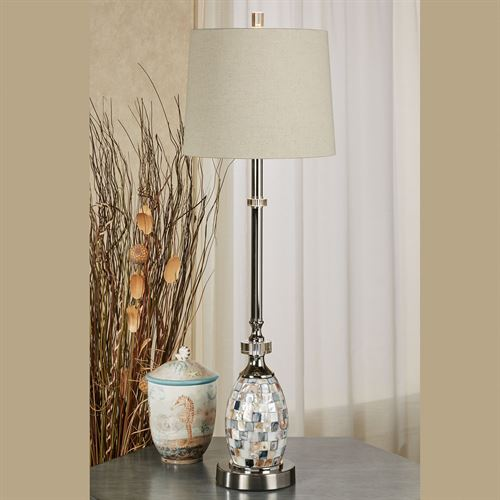 Ceredano Buffet Lamp Polished Nickel