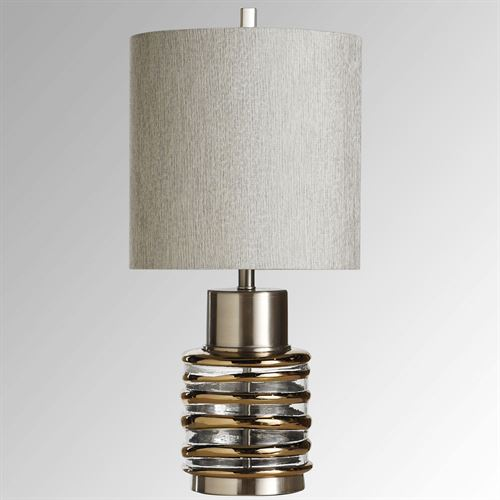 Linares Table Lamp Chrome