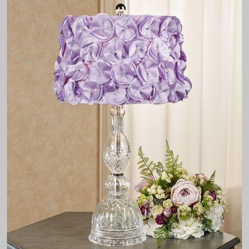 Lydia Table Lamp Lavender