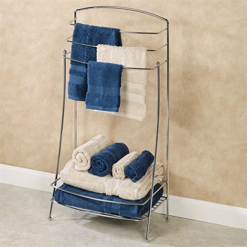 Lido Towel Butler Chrome
