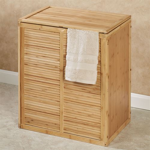 Eco Styles Double Laundry Hamper Natural