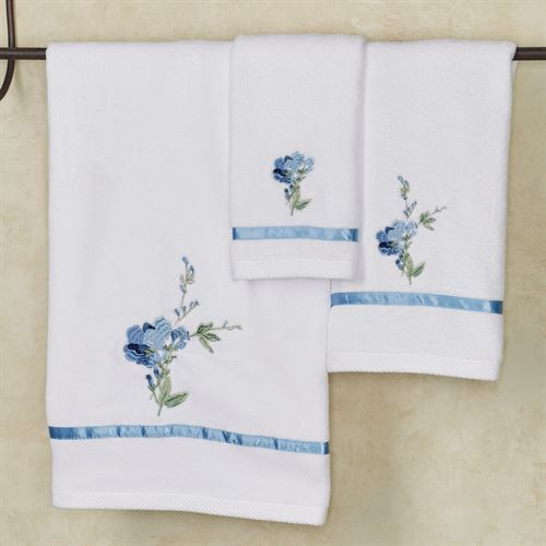 Charlotte Bath Towel Powder Blue