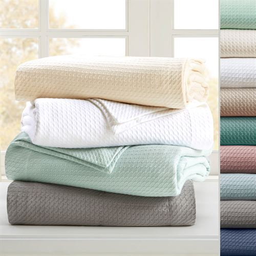 Manila Egyptian Cotton Blanket