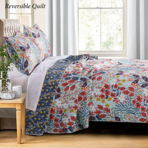 Perry Mini Quilt Set Pastel Blue
