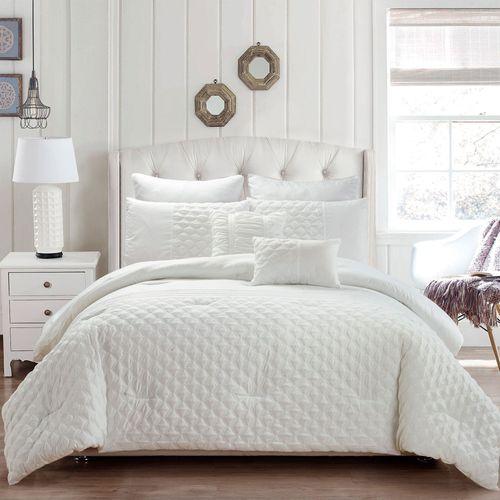 Sonya Comforter Bed Set Ivory
