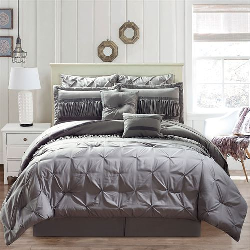 Marlow Bed in a Bag Set Gray