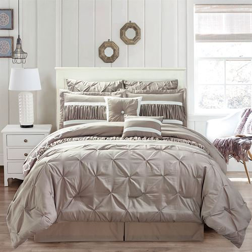 Marlow Bed in a Bag Set Light Taupe