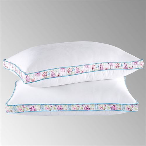 Collier Campbell Down Alternative Firm Sleep Pillow Set White