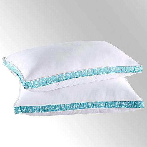 Collier Campbell Down Alternative Medium Sleep Pillow Set White