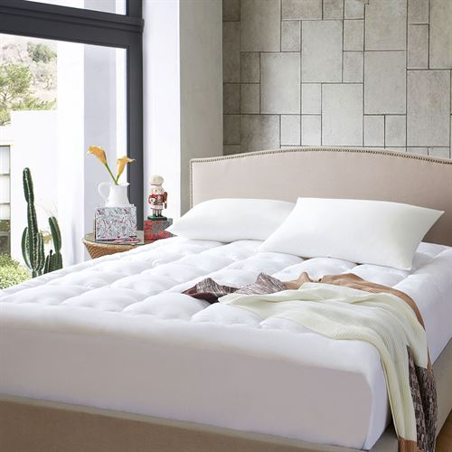 Collier Campbell Mattress Pad Off White