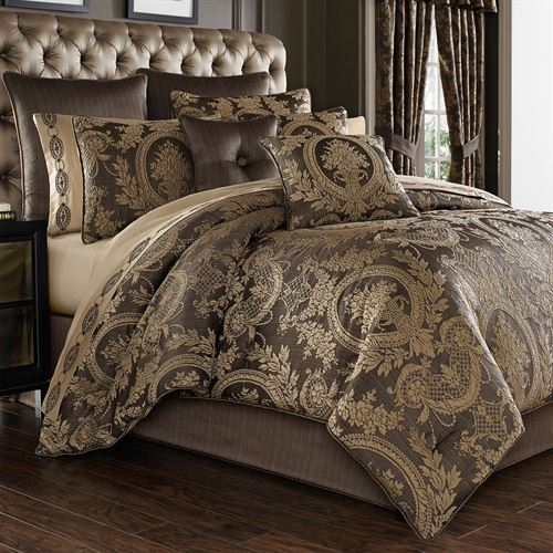 Neapolitan Comforter Set Cocoa