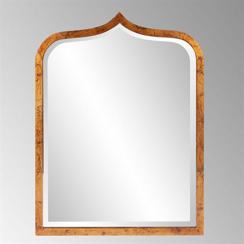 Errol Wall Mirror Antique Gold