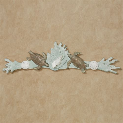 Turtle Reef Wall Topper Seafoam