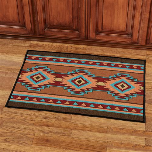 Luna Accent Rug Multi Warm 36 x 24