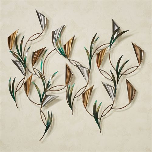 Symphony Wall Sculpture Multi Metallic