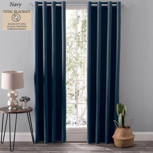 Nightfall Grommet Curtain Panel
