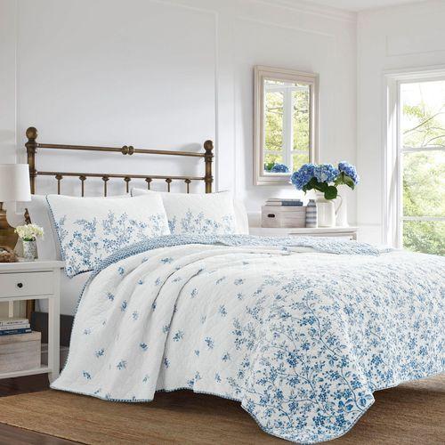 Flora Mini Quilt Set Blue