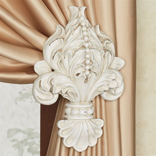 Chiara Tieback Pair Antique Ivory