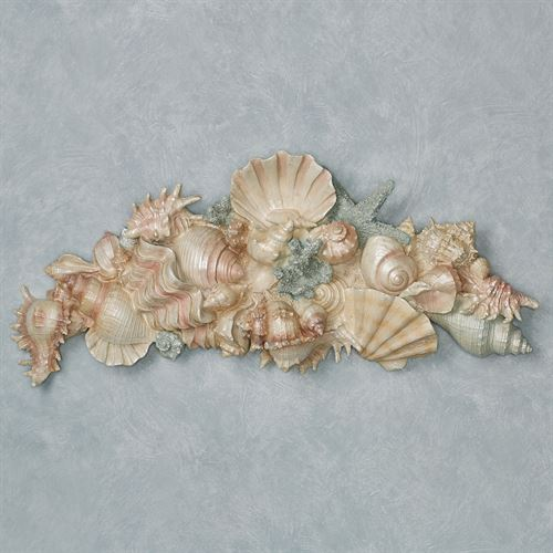 Shell Serenity Wall Topper Multi Pastel