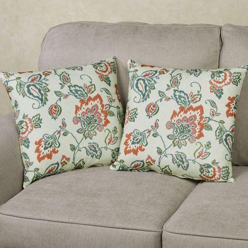 Dharma Decorative Pillows Light Red 2 Piece Set