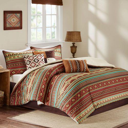 Alamosa Southwest Comforter Bed Set Multi Warm