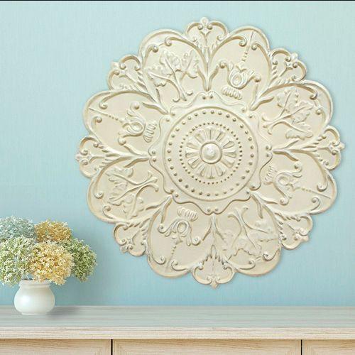 Bellezza Medallion Wall Art Ivory