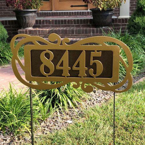 Fairway Victoria II Yard Address Stake Gold/Bronze