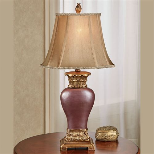 Chapelton Table Lamp Wine