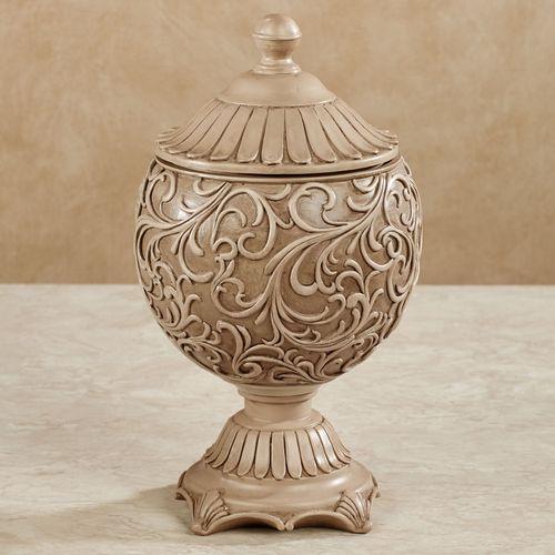 Abriella Decorative Covered Jar Beige