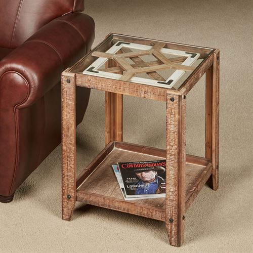Maclaen Accent Table Brown