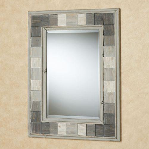 Shades of Gray Wall Mirror