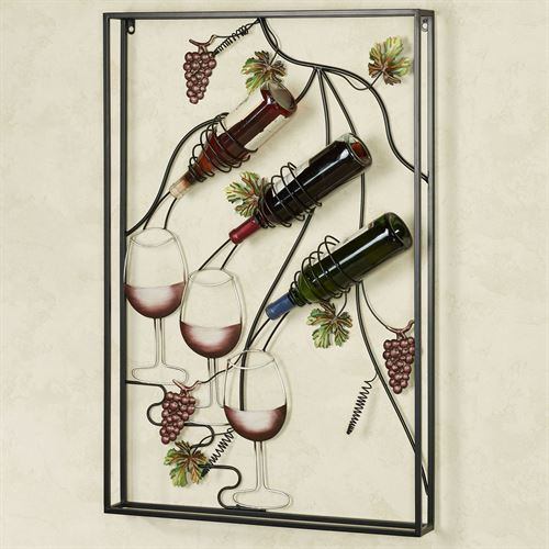 Pour Another Glass Wall Art Wine Rack Port